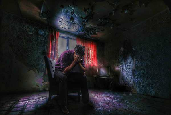 Abandoned house horror dark furniture fantasy 151694 03